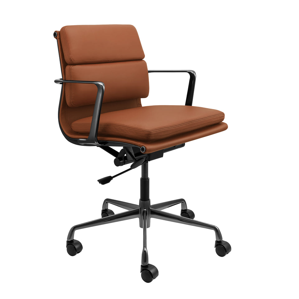 SOHO Pro Soft Pad Management Chair (Brown/Gunmetal Limited Edition)