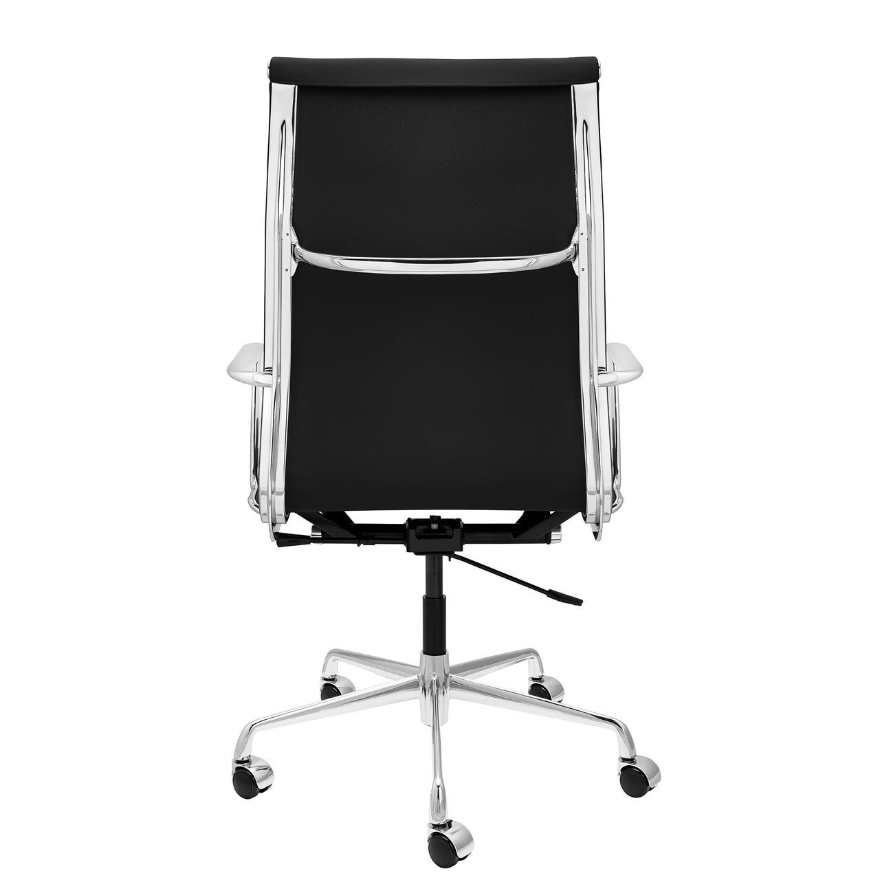 SOHO Pro Tall Back Soft Pad Management Chair (Black Italian Leather)