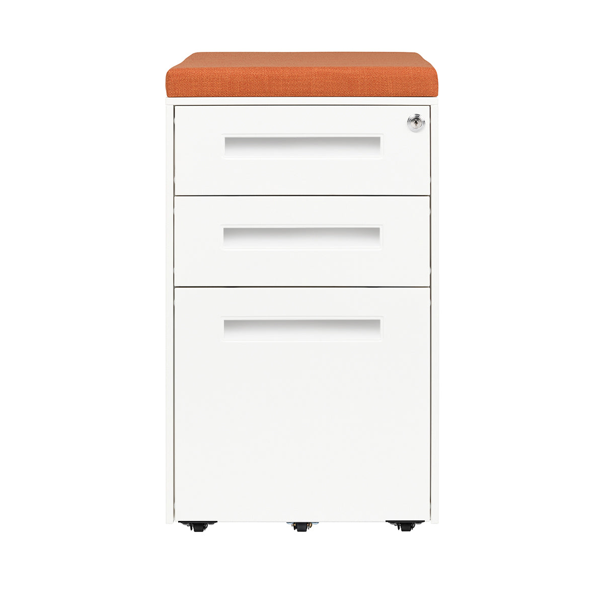 Stockpile Seat File Cabinet (White)