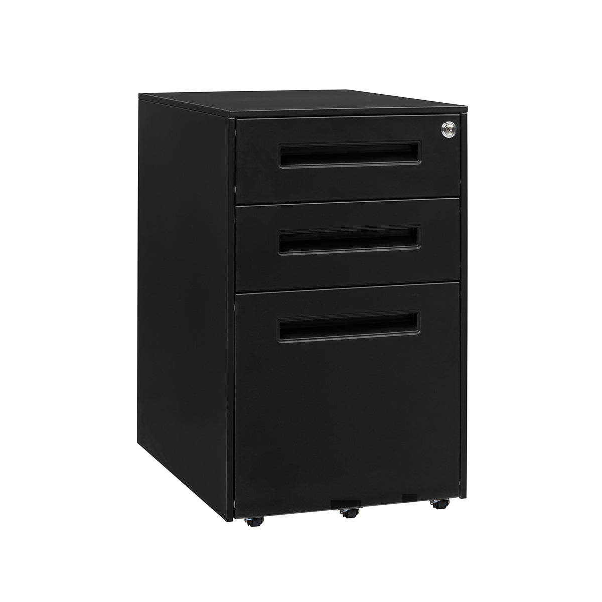 Stockpile Square File Cabinet (Black)