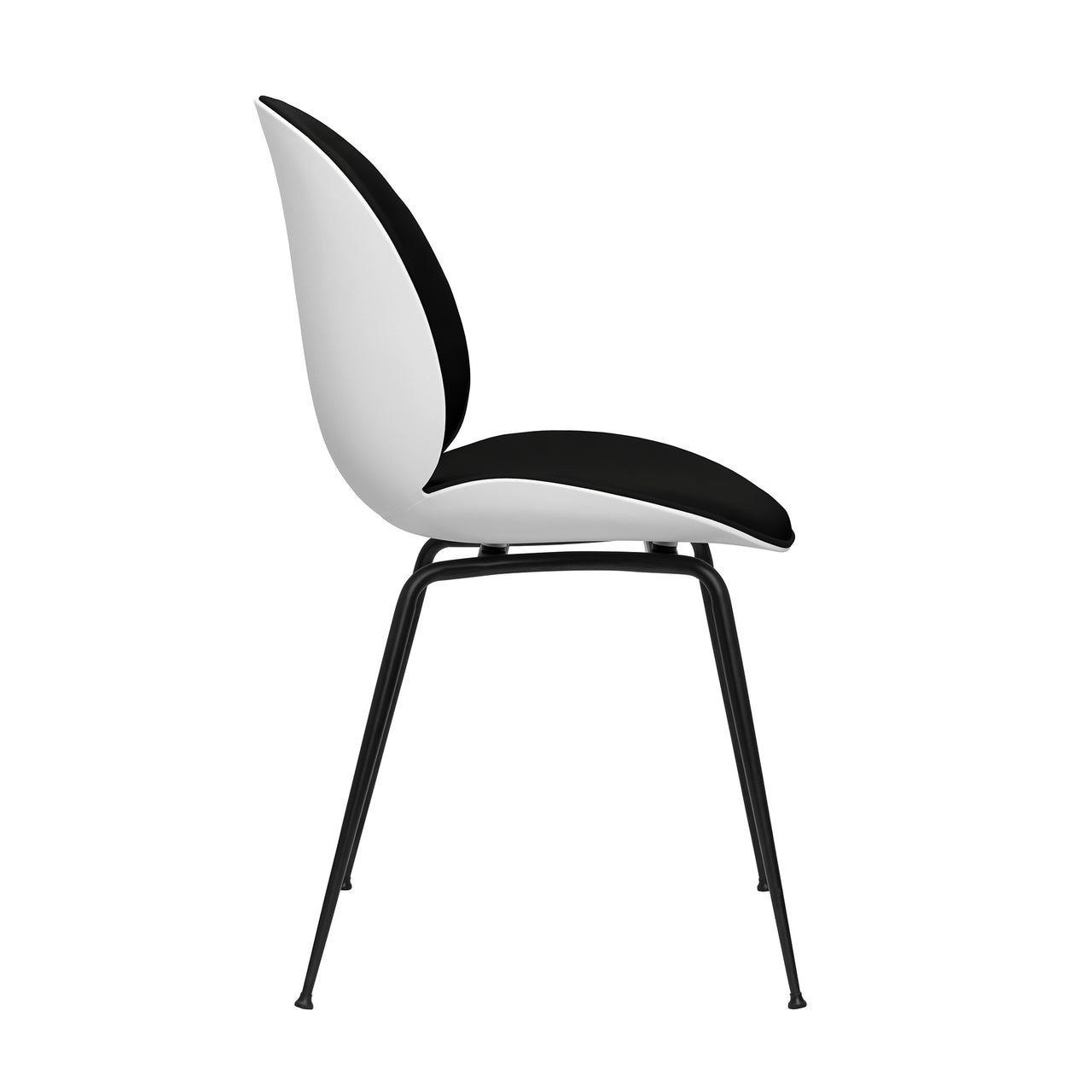 Whitney Side Chairs - Set of 2 (Black)