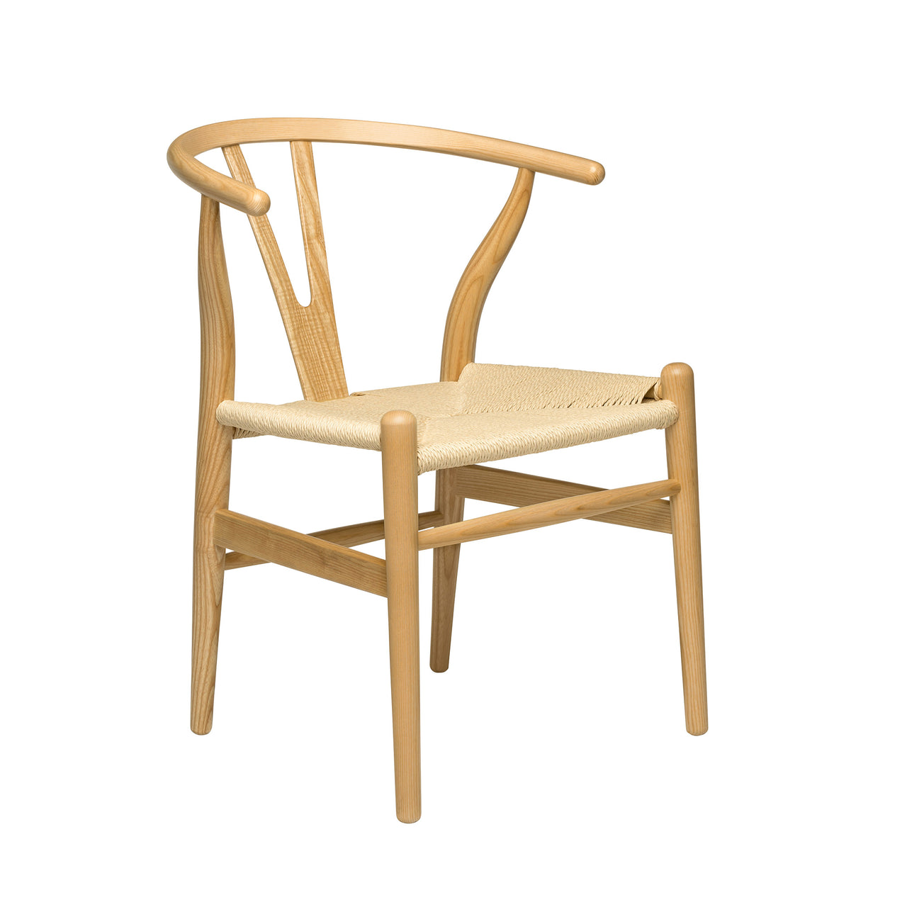 Wishbone Chair (Ash/Woven Cord)