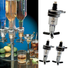 25 ml/30 ml/45 ml Liquor Dispenser Wijn Schenker Fles Wandmontage Cocktail Sap Drank Bier Geesten Whiskey Uitloop Stopper