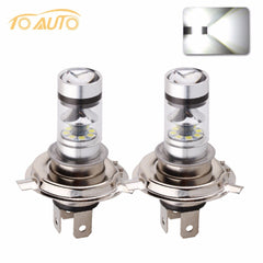 2xH4 Super Heldere Witte led lamp 12 vauto 6000 k 20 SMD h4 p43t 12 v 100 w Lampen Lampen Dagrijverlichting Verlichting DRL   TOAUTO