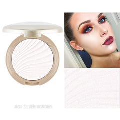 Akimuse Highlighter Poeder Make Markeerstift Palet Illuminator Gezicht Poeder Bronzer Highlighter Poeder GezichtMake-Up