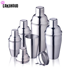 CAKEHOUD 250 ml/350 ml/550 ml/750 ml Rvs Cocktail Shaker Cocktail Mixer Wijn Martini drinken Boston Drink Shaker