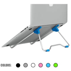 Laptop Stand Houder voor Macbook Air Pro 13 15 Lenovo ASUS Tablet PC Houder Desktop Metalen Staal Multi-hoek antislip Draagbare