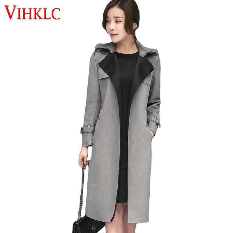 33e3b5a9349431 New-Fashion-Elegant -Autumn-Long-women-trench-Suede-Trench-Coat-Women-Pure-Color-Brief-Overcoat-with.jpg v 1549546548
