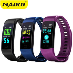 Smart Band Horloge Kleur Screen Polsband Hartslag Activiteit Fitness tracker Smart band Elektronica Armband PK Xiaomi Miband 2