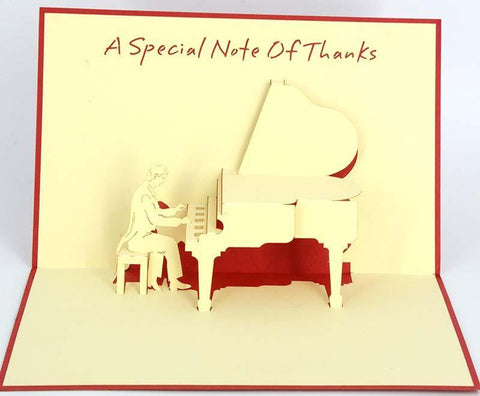 A Special Note of Thanks - Henry Pop-Up Cards