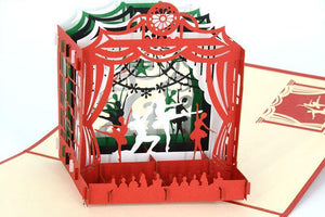 Ballet Dancers 3D - Henry Pop-Up Cards