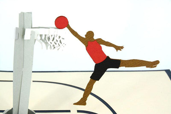 Basketball - Henry Pop-Up Cards