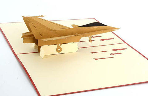 Bomber Aeroplane - Henry Pop-Up Cards