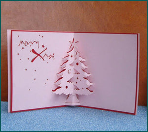 Christmas Tree - Henry Pop-Up Cards