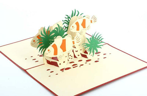 Clown Fish - Nemo - Henry Pop-Up Cards