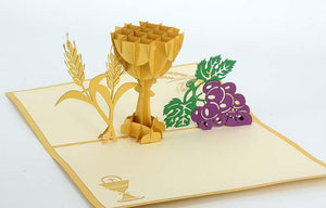 Communion - Holy Grail - Henry Pop-Up Cards