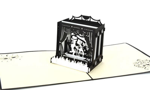 Dancing 3D - Henry Pop-Up Cards