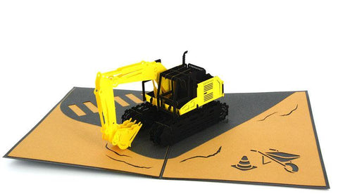 Digger 3D - Henry Pop-Up Cards