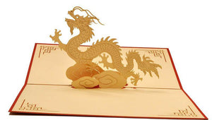 Chinese Dragon - Henry Pop-Up Cards