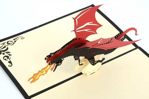 Dragon 4 - Henry Pop-Up Cards