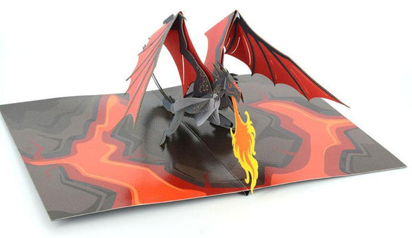 Fire Breathing Dragon - Henry Pop-Up Cards