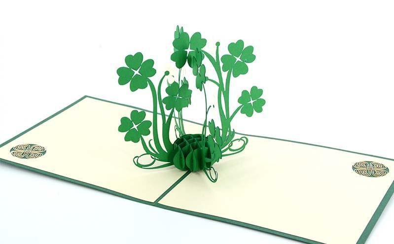 Four Leaves Clover - Henry Pop-Up Cards