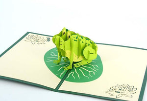 Frog - Henry Pop-Up Cards