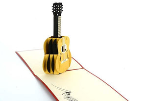 Guitar - Henry Pop-Up Cards