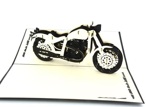 Harley Bike 3D - Henry Pop-Up Cards