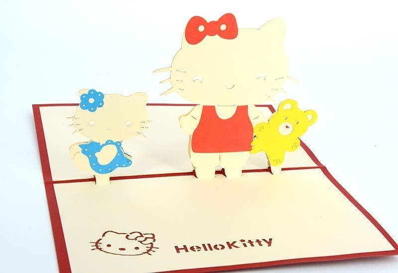 Hello Kitty - Henry Pop-Up Cards