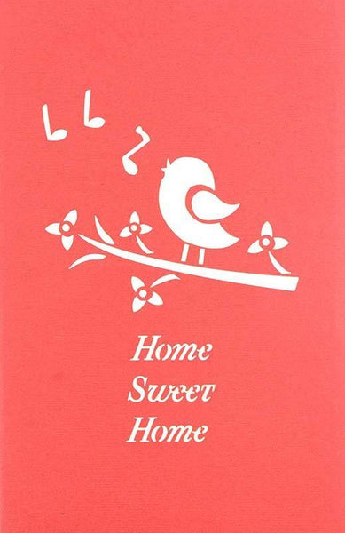 Home Sweet Home singing bird - Henry Pop-Up Cards