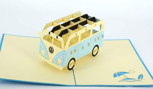 Kombi Van - Henry Pop-Up Cards