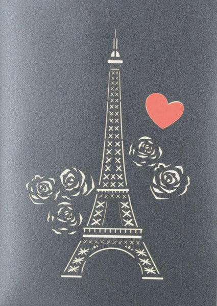 Love in Paris - Henry Pop-Up Cards