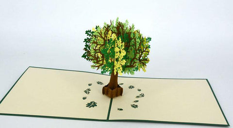 Oak Tree - Henry Pop-Up Cards