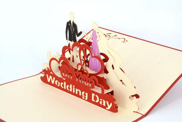 On Your Wedding Day big - Henry Pop-Up Cards