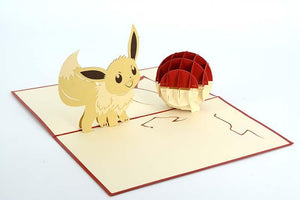 Eevee - Pokemon - Henry Pop-Up Cards