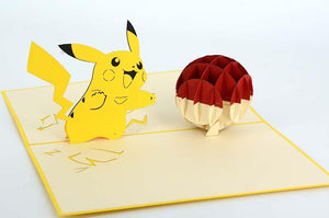 Pikachu - Pokemon - Henry Pop-Up Cards