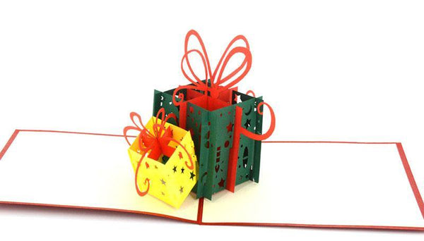 Present boxes 3D 3 - Henry Pop-Up Cards