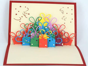 Present Boxes - Henry Pop-Up Cards