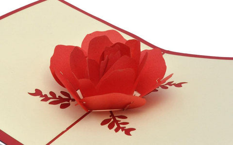 Rose 4 - Henry Pop-Up Cards
