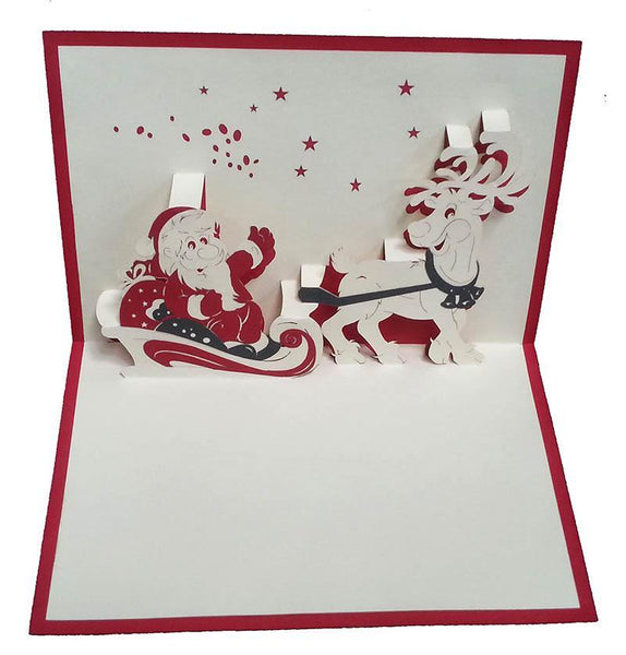 Santa 2 - Henry Pop-Up Cards