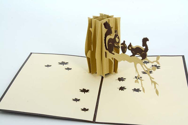 Squirrels - Henry Pop-Up Cards