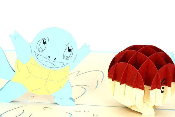 Squirtle Pokemon - Henry Pop-Up Cards