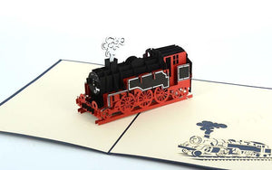 Steam Train 3D 1 - Henry Pop-Up Cards