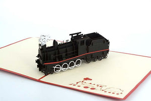 Steam Train 3D 2 - Henry Pop-Up Cards