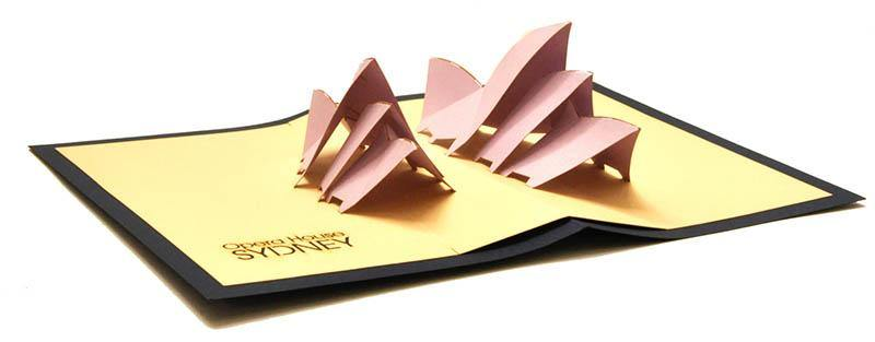 Sydney Opera House - Henry Pop-Up Cards