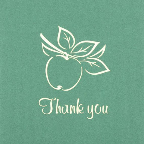 Thank You Apple - Henry Pop-Up Cards