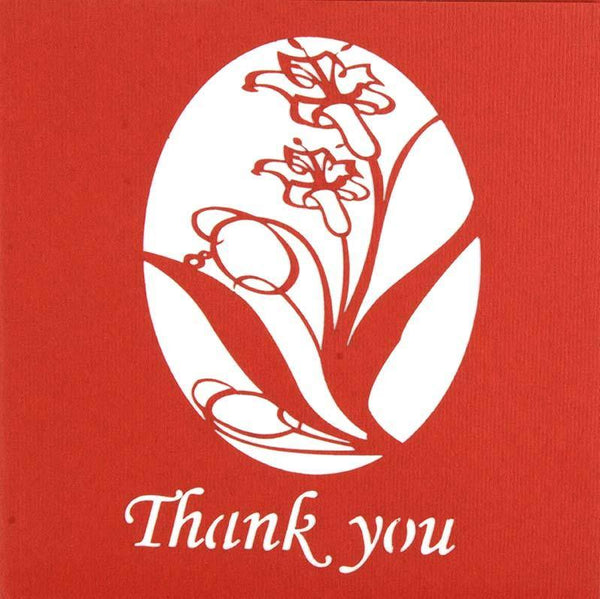 Thank You Daffodils - Henry Pop-Up Cards