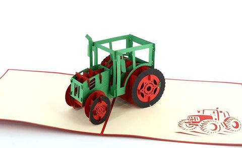 Tractor 3D - Henry Pop-Up Cards