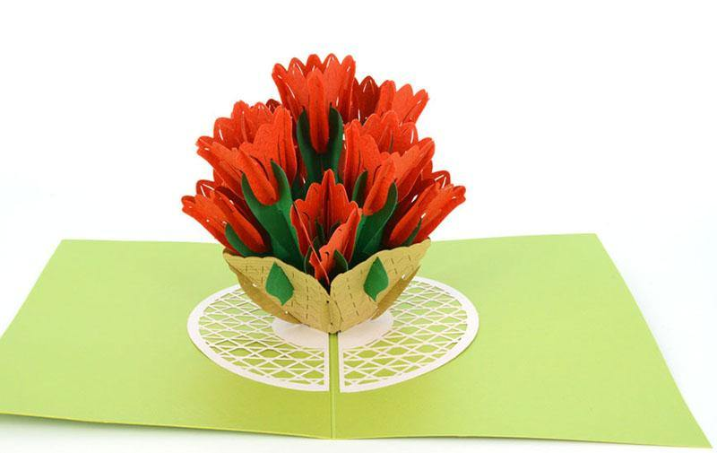 Tulip 3D - Henry Pop-Up Cards